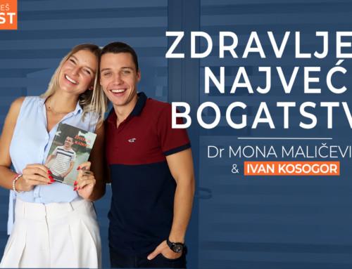 Ep 16 Dr Mona Maličević — Zdravlje je najveće bogatstvo | Ivan Kosogor: Da, ti to možeš (Podcast)